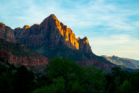 The Watchman in Zion NP