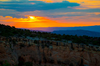 Sunset at the Colorado National Monument