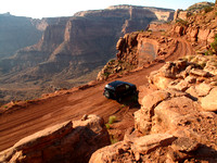 The Shafer Trail in Canyonlands National Park
