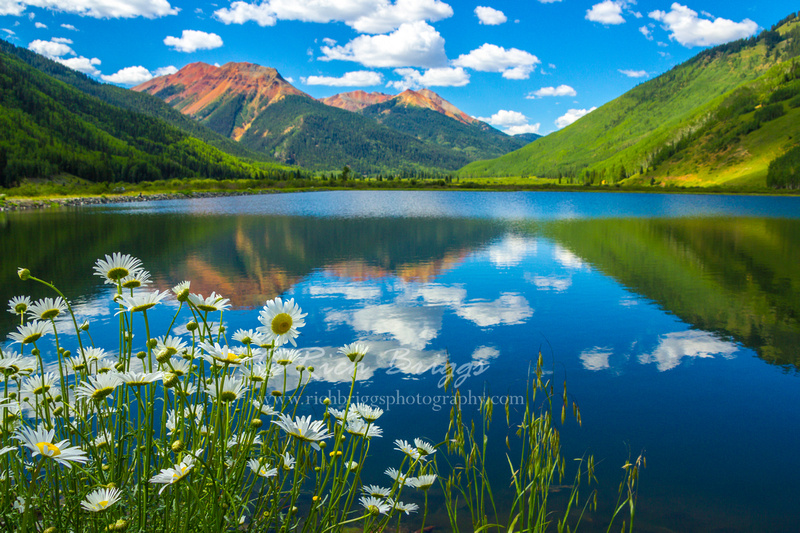 Crystal Lake on the Million Dollar Highway