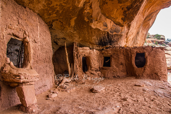 Moon House Ruin in the Bears Ears National Monument